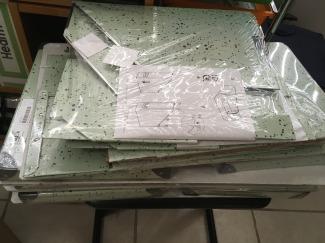IDEA boxes and magazine files unopen
