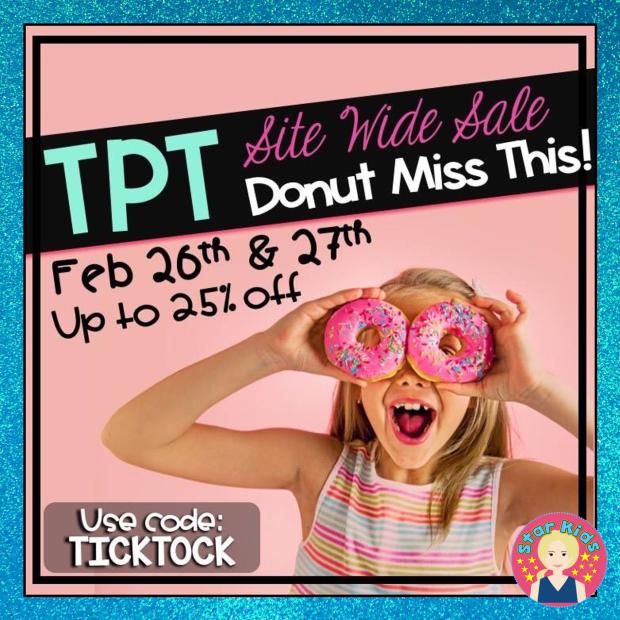 TpT Sale Feb 26-27